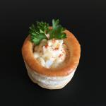 Mini-Pastetli mit Eierfüllung