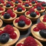 Mini-Tartelette mit Beeren