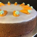 Rüebli-Torte, glutenfrei