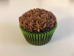 Schokoladen-Cupcakes mit Banane, vegan